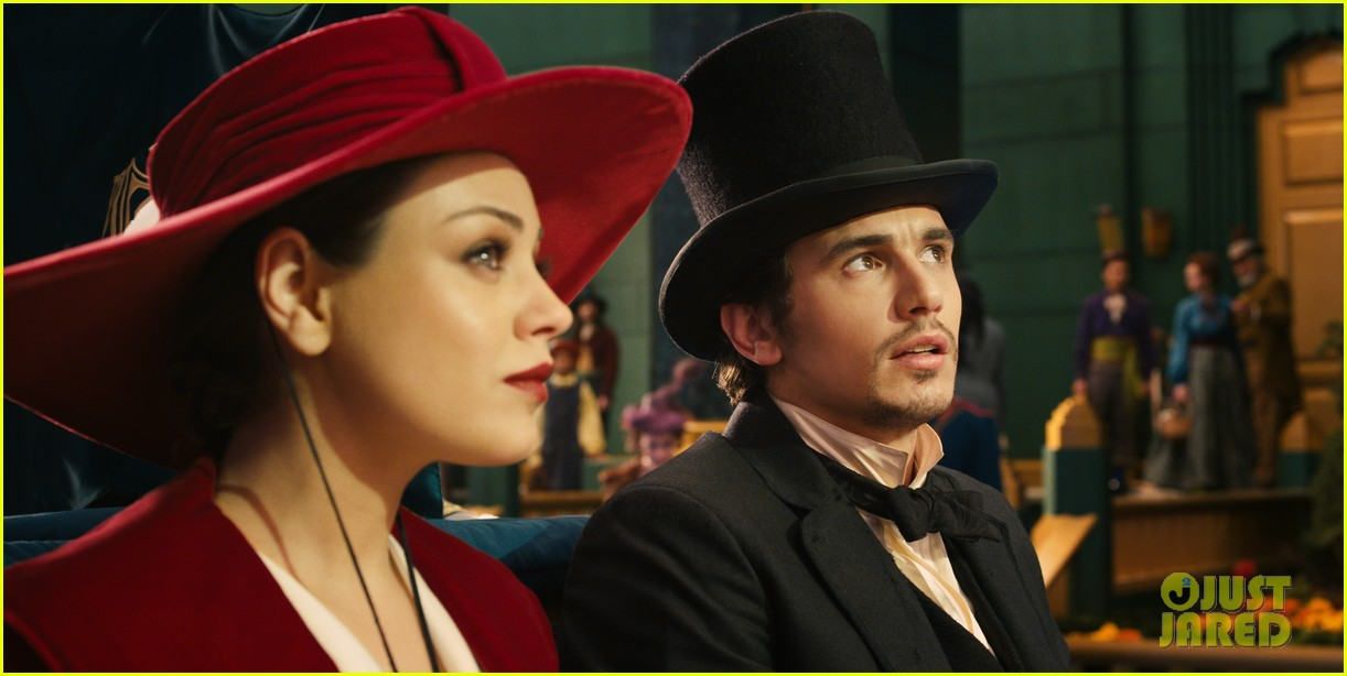 mila kunis james franco oz the great and powerful set visit 062801836