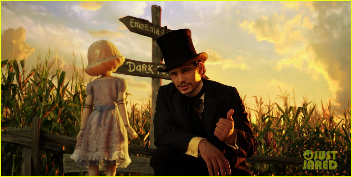 mila kunis james franco oz the great and powerful set visit 11