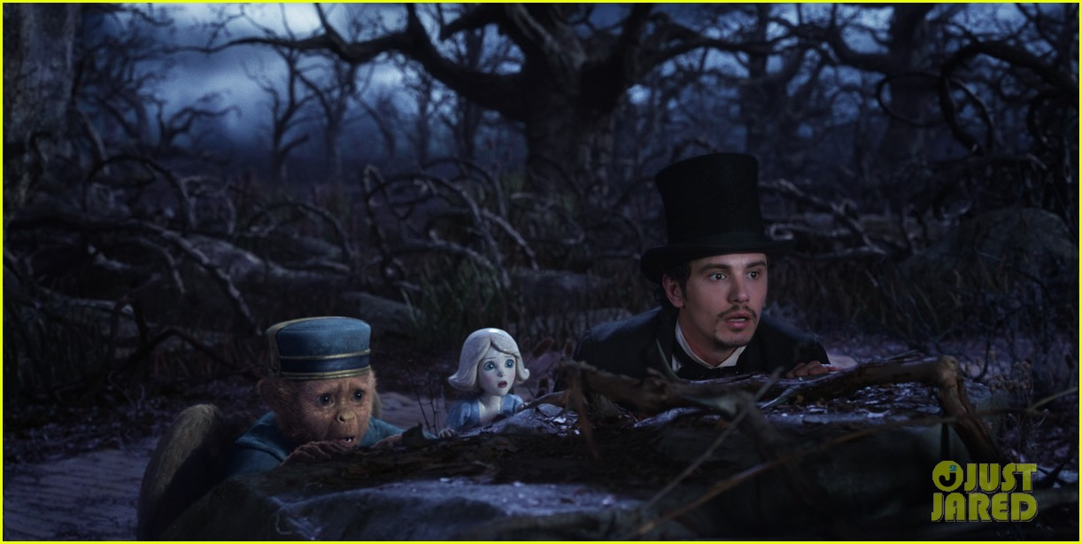 mila kunis james franco oz the great and powerful set visit 132801843