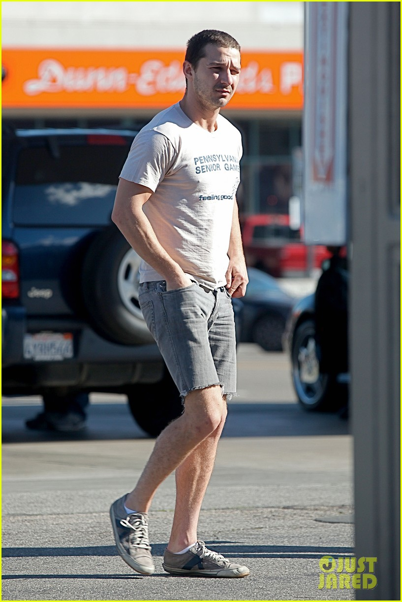 shia labeouf no more beard 06