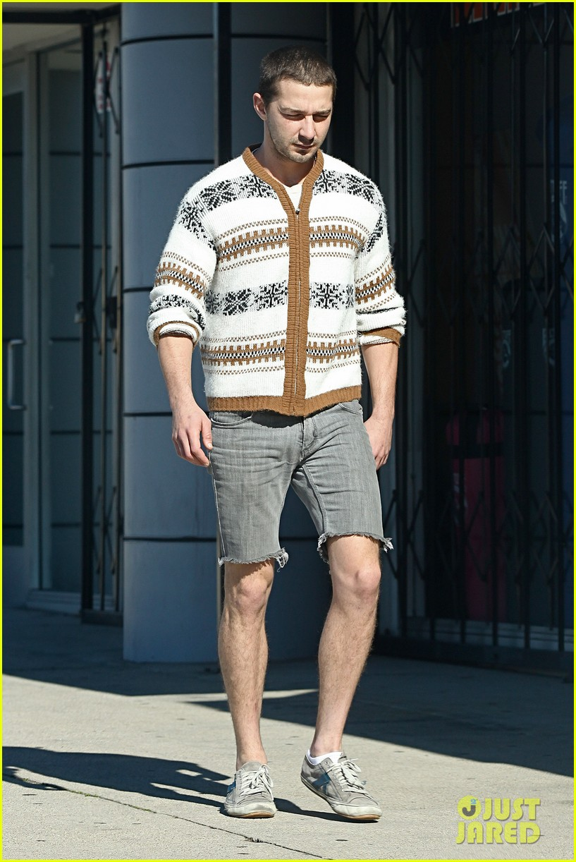 shia labeouf no more beard 07