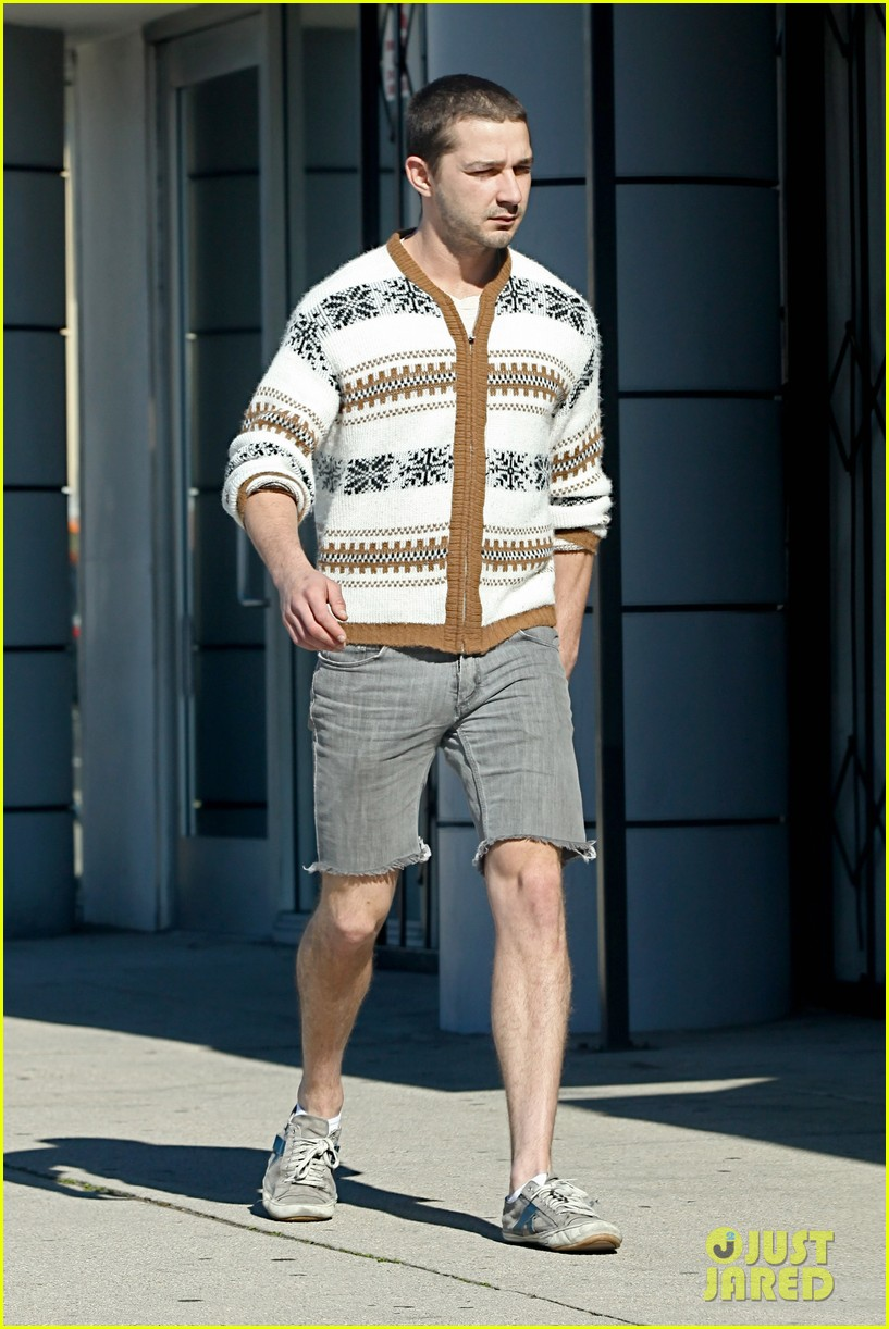 shia labeouf no more beard 08