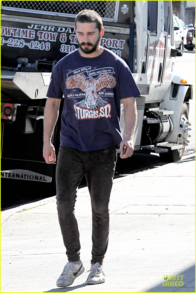 shia labeouf sturgis motorcycle rally supporter 102784880