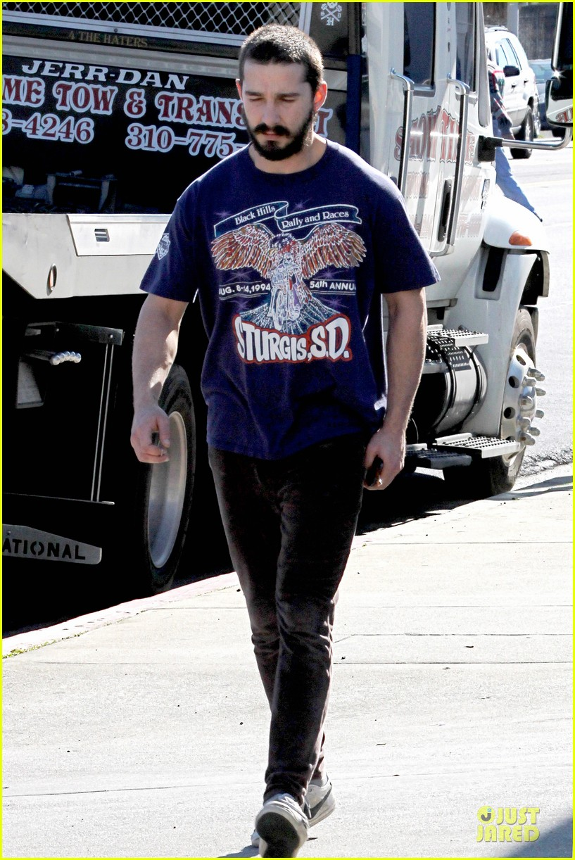 shia labeouf sturgis motorcycle rally supporter 122784882