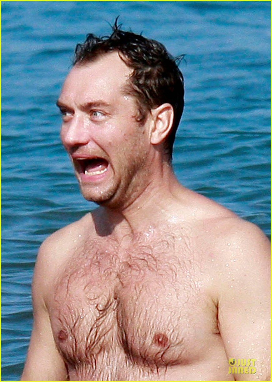 jude law shirtless hawaiian body boarding 022783222