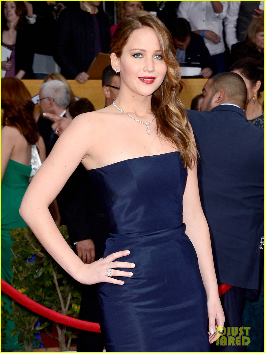 jennifer lawrence sag awards 2013 07
