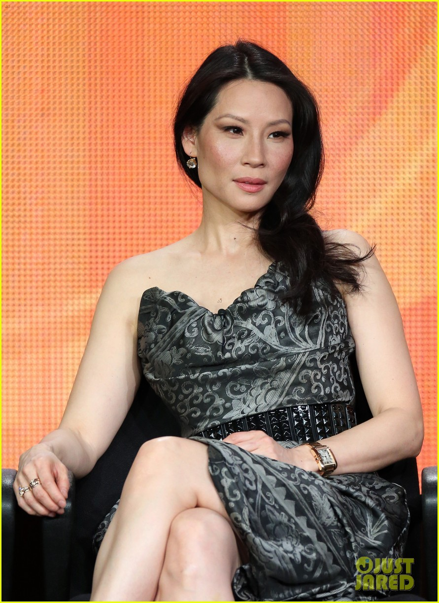 lucy liu theo james cbs tca panel 11