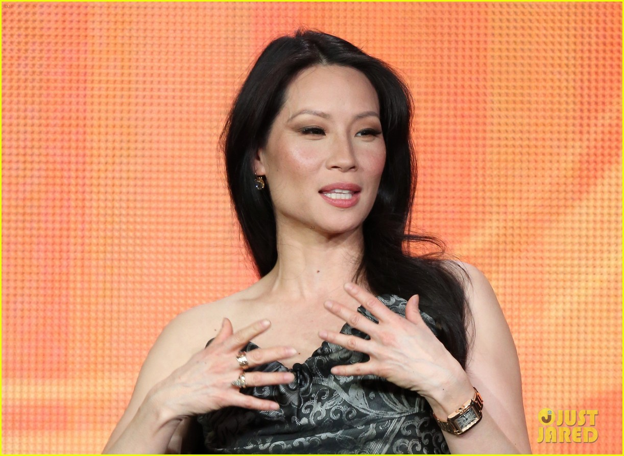 lucy liu theo james cbs tca panel 142790383