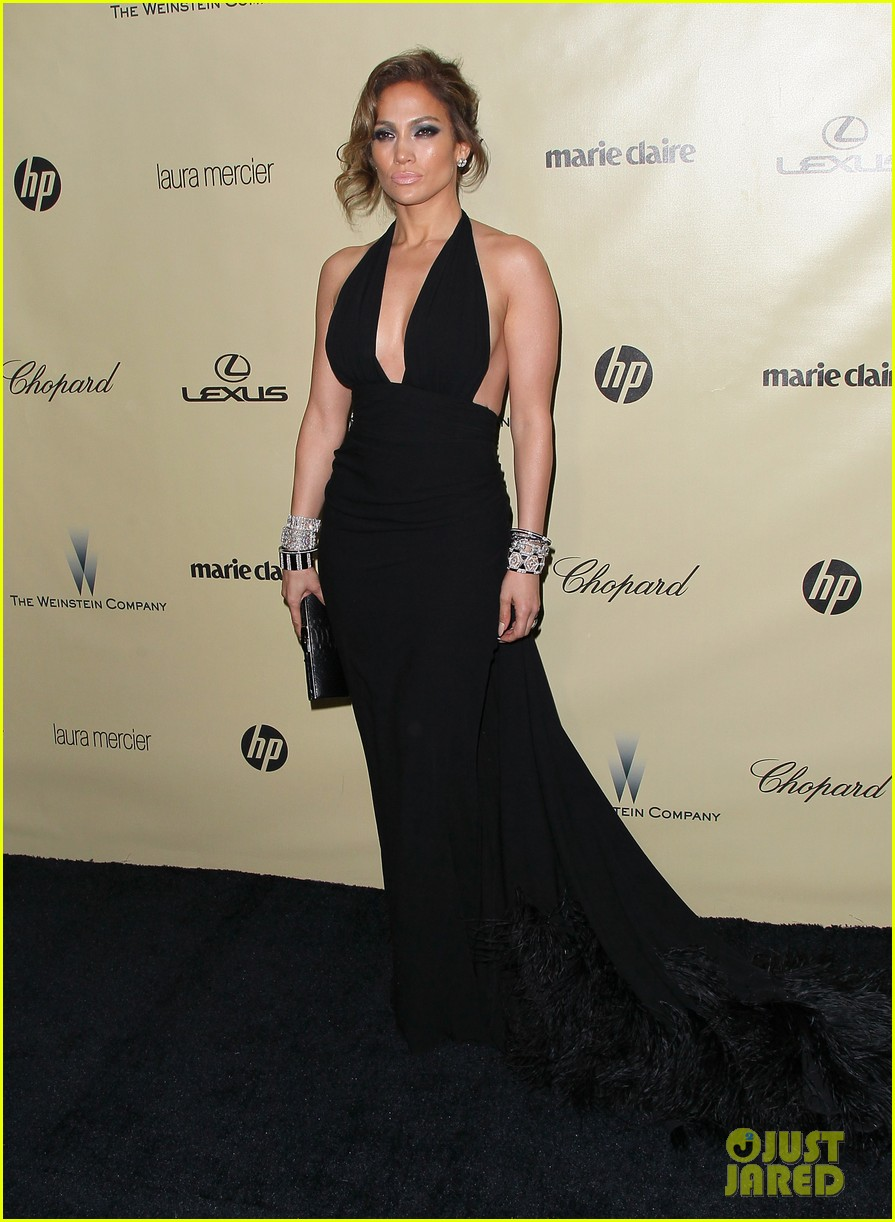 jennifer lopez casper smart golden globes parties 2013 01
