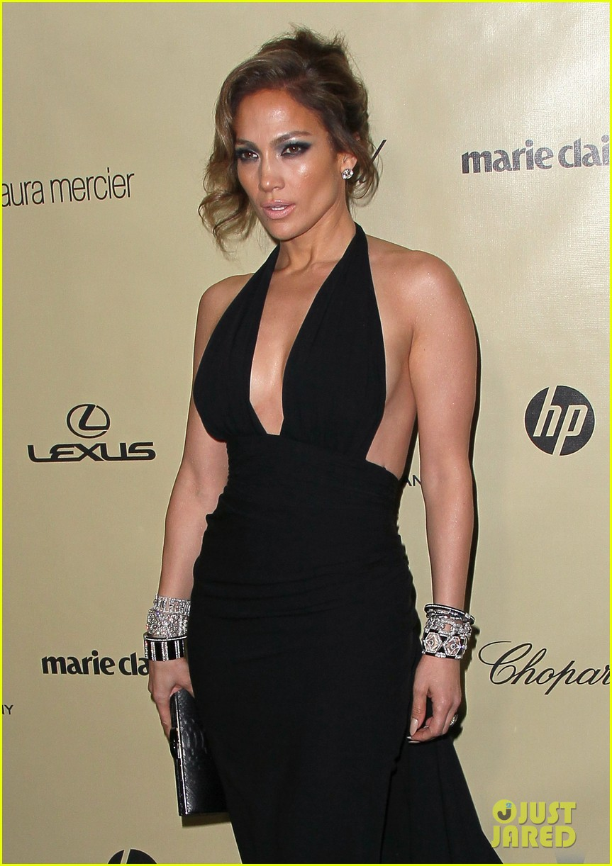 jennifer lopez casper smart golden globes parties 2013 082791592