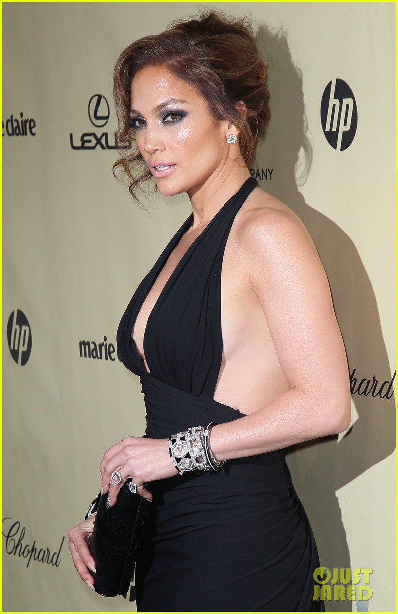 jennifer lopez casper smart golden globes parties 2013 11