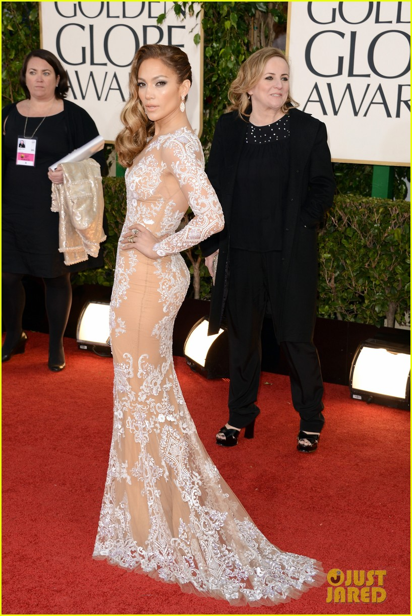 jennifer lopez golden globes 2013 red carpet 012791001