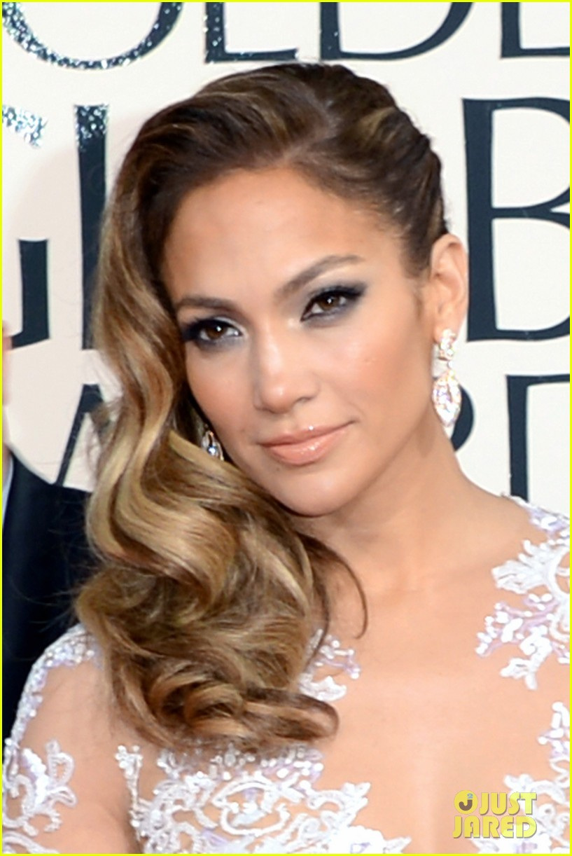 jennifer lopez golden globes 2013 red carpet 022791002
