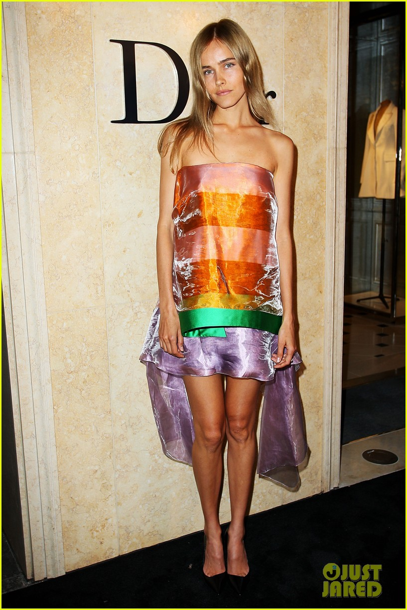 isabel lucas christian dior sydney store opening 022801878