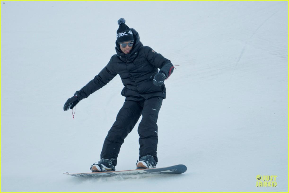 madonna & brahim zaibat winter sporting couple 052785242