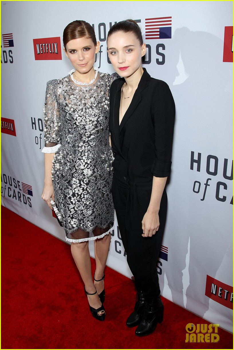 kate rooney mara house of cards new york premiere 012801584
