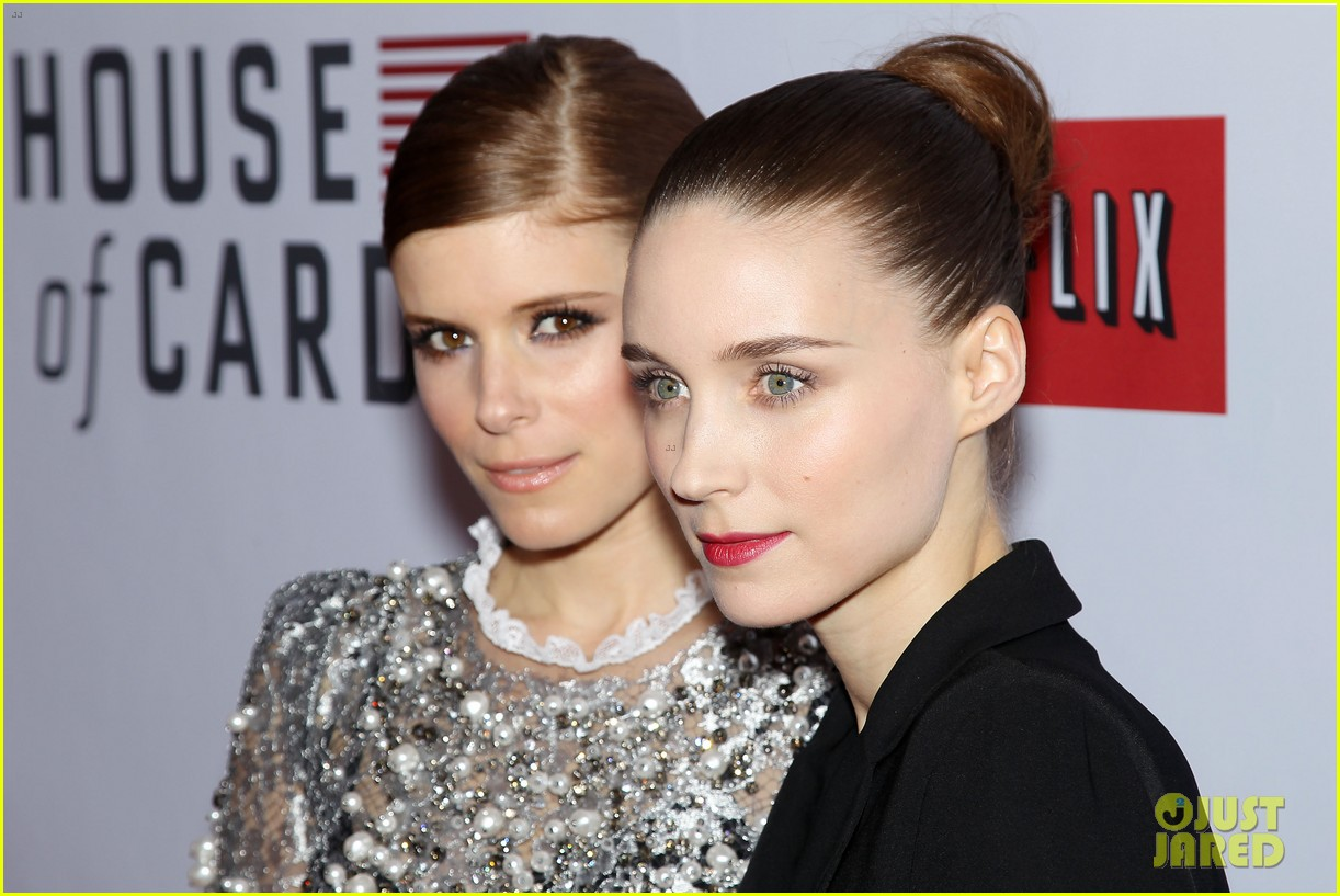 kate rooney mara house of cards new york premiere 022801585