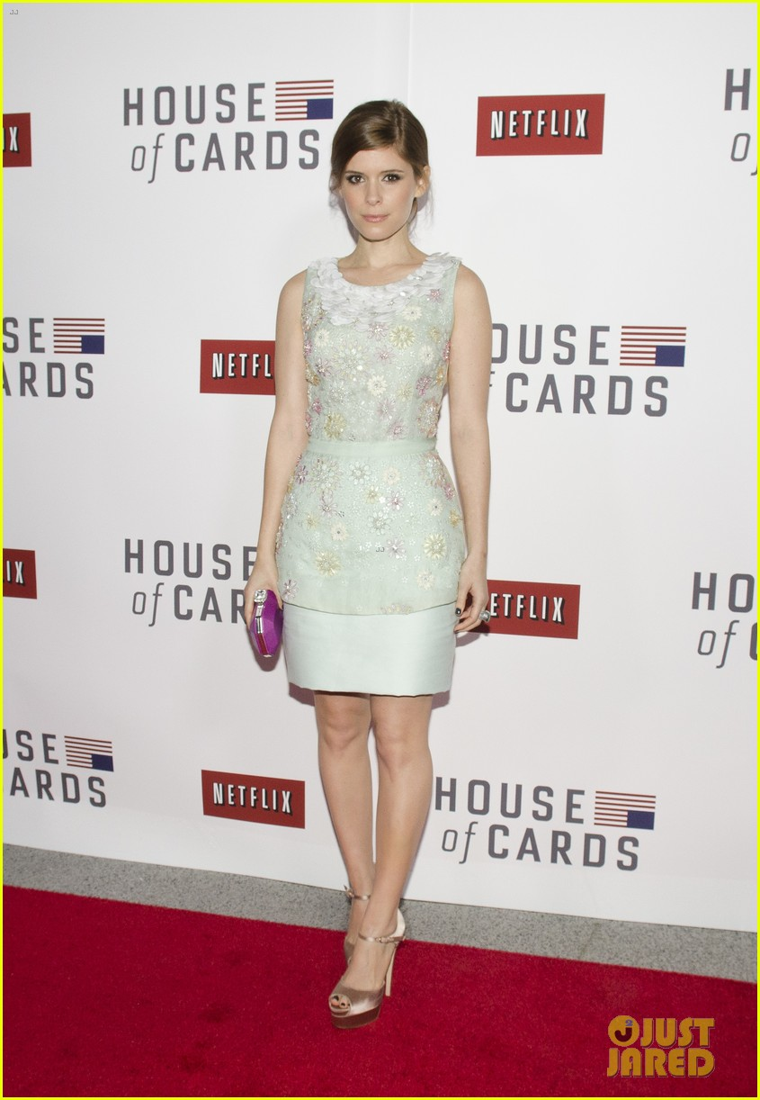 kate mara house of cards screening with kevin spacey 092801227