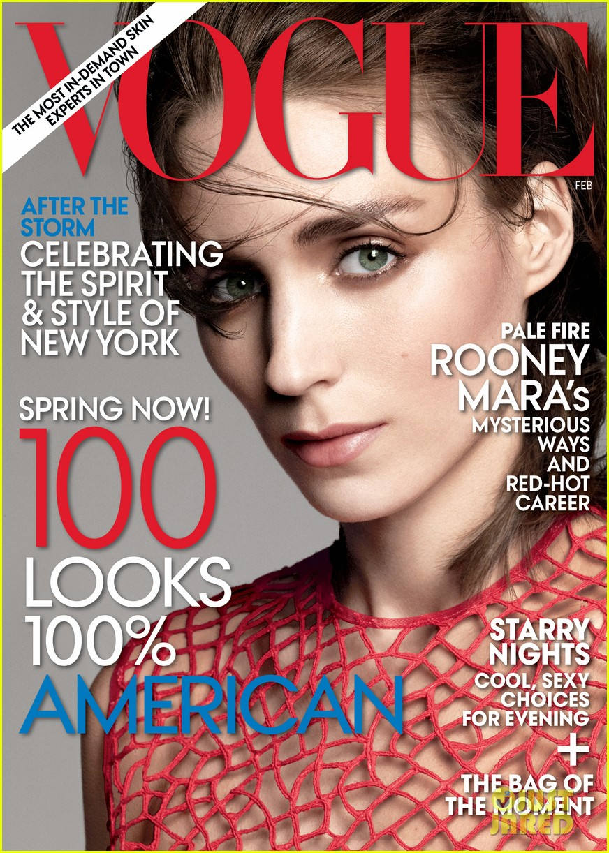 rooney mara covers vogue february 2013 022792030