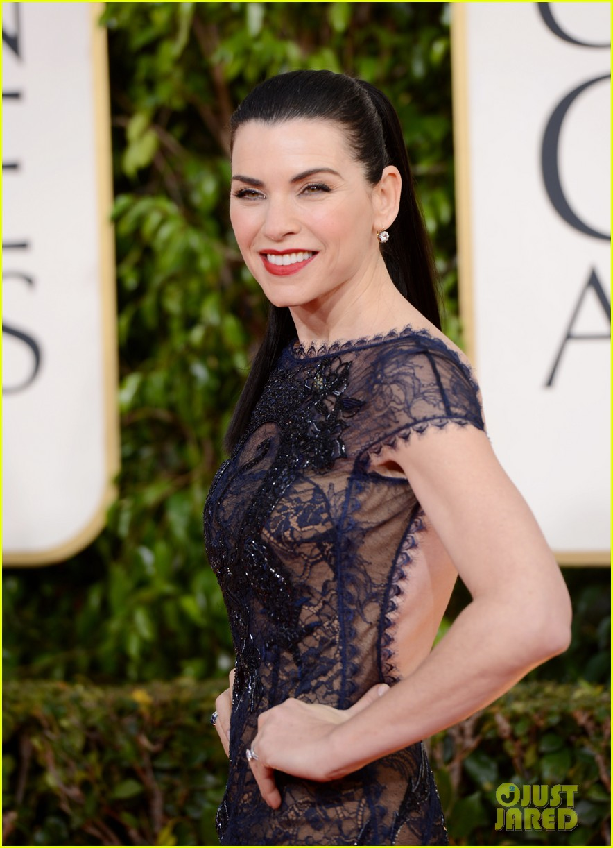 julianna margulies golden globes 2013 red carpet 062791819