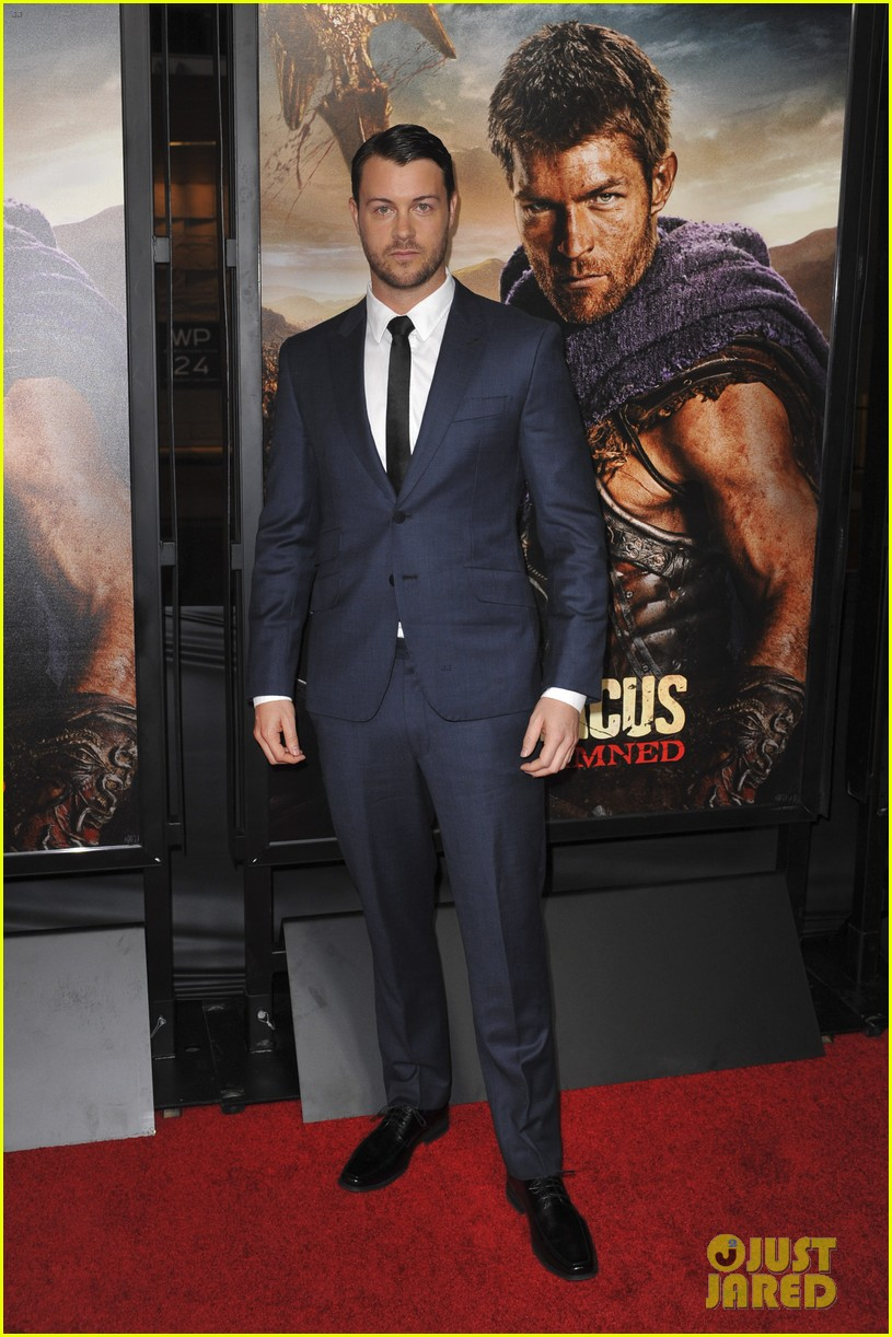liam mcintyre spartacus war of the damned premiere 172797241