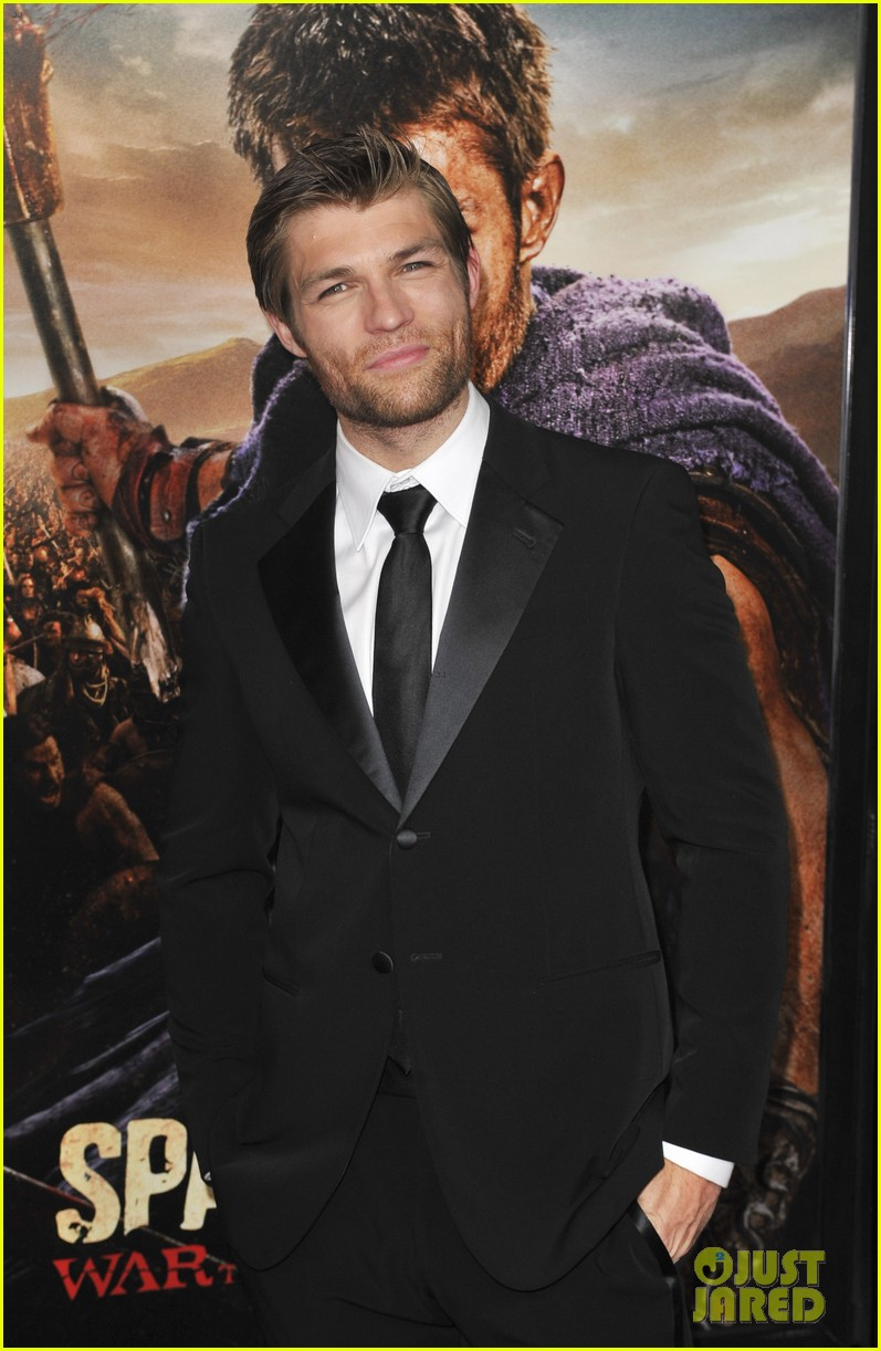 liam mcintyre spartacus war of the damned premiere 21