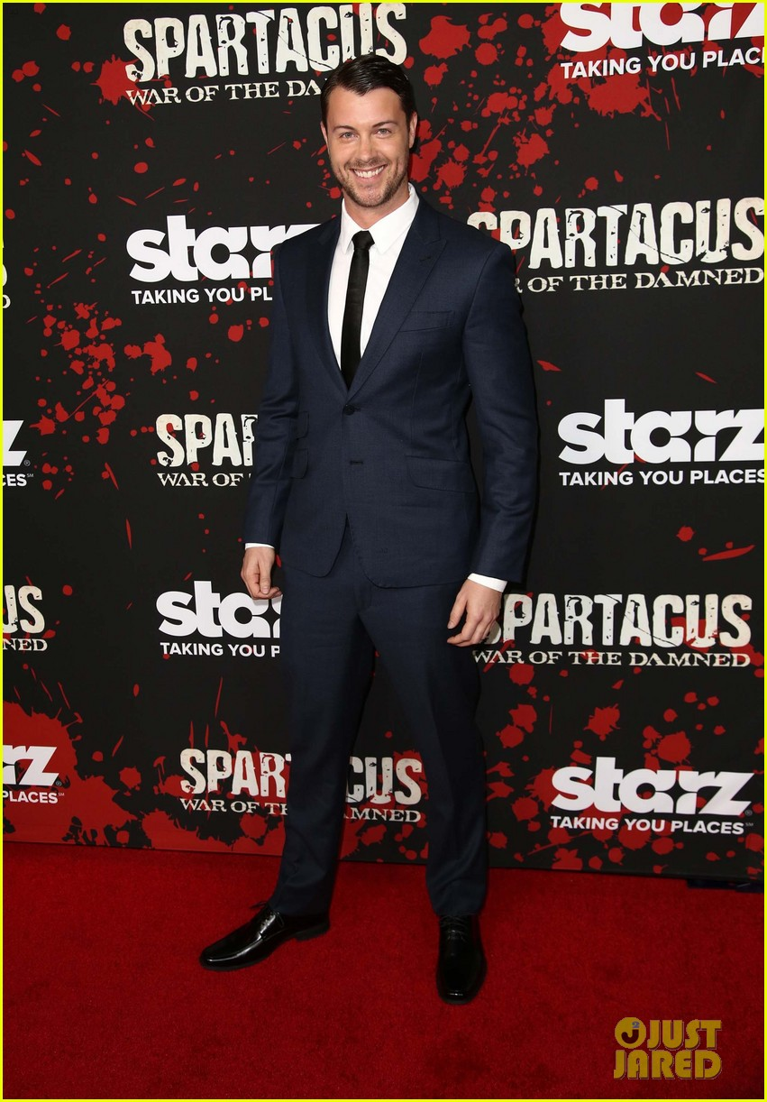 liam mcintyre spartacus war of the damned premiere 42
