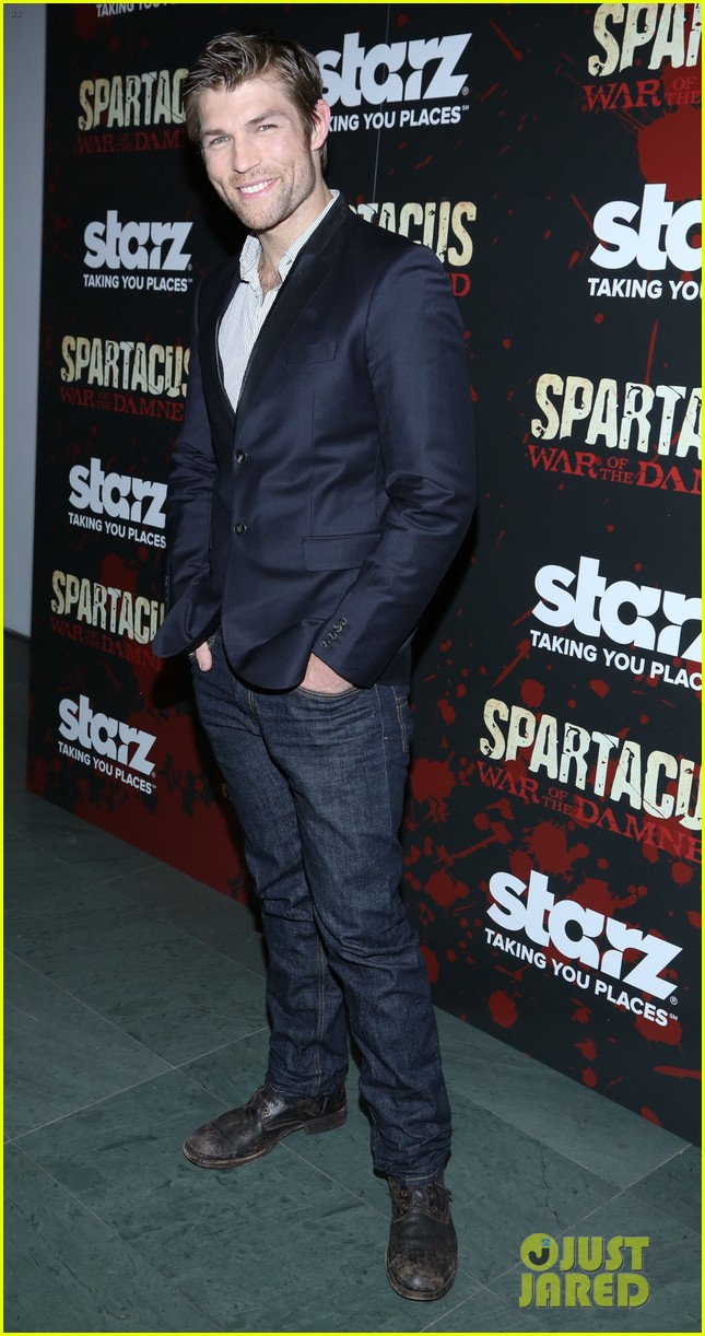 liam mcintyre spartacus war of the damned ny premiere 012798386