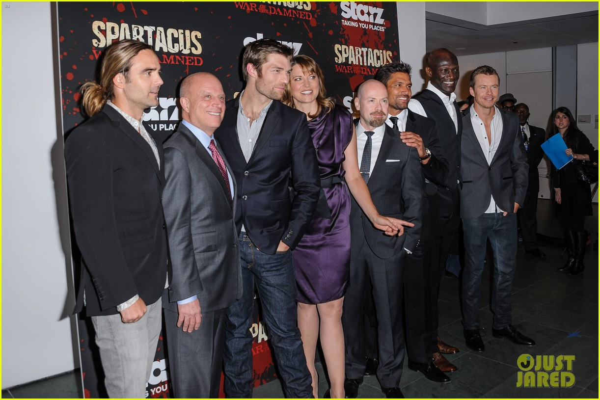 liam mcintyre spartacus war of the damned ny premiere 052798390
