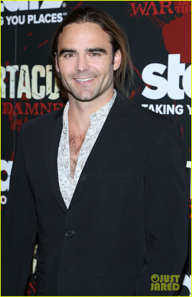 liam mcintyre spartacus war of the damned ny premiere 062798391