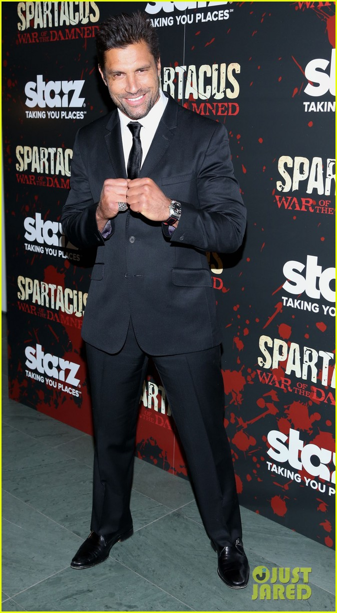 liam mcintyre spartacus war of the damned ny premiere 112798396