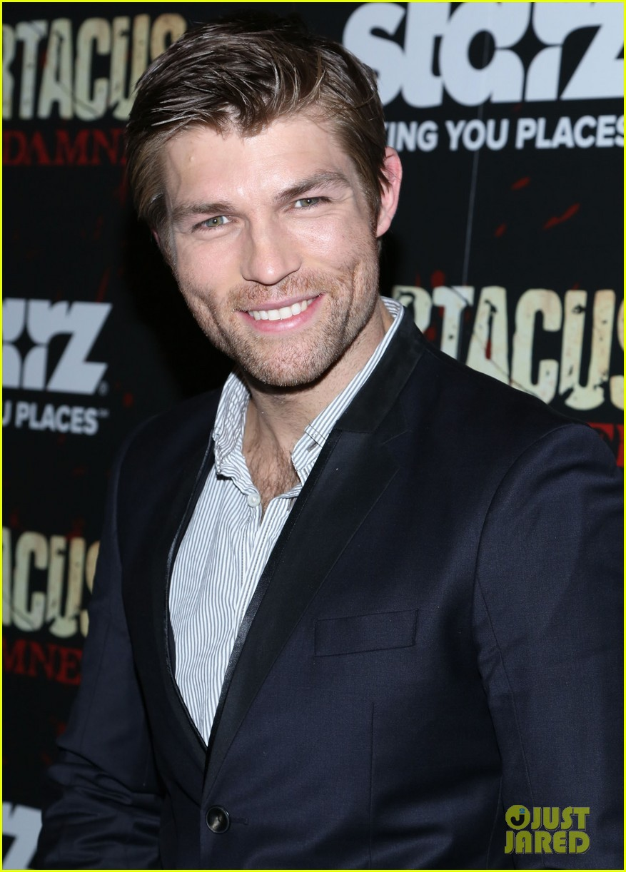 liam mcintyre spartacus war of the damned ny premiere 162798401