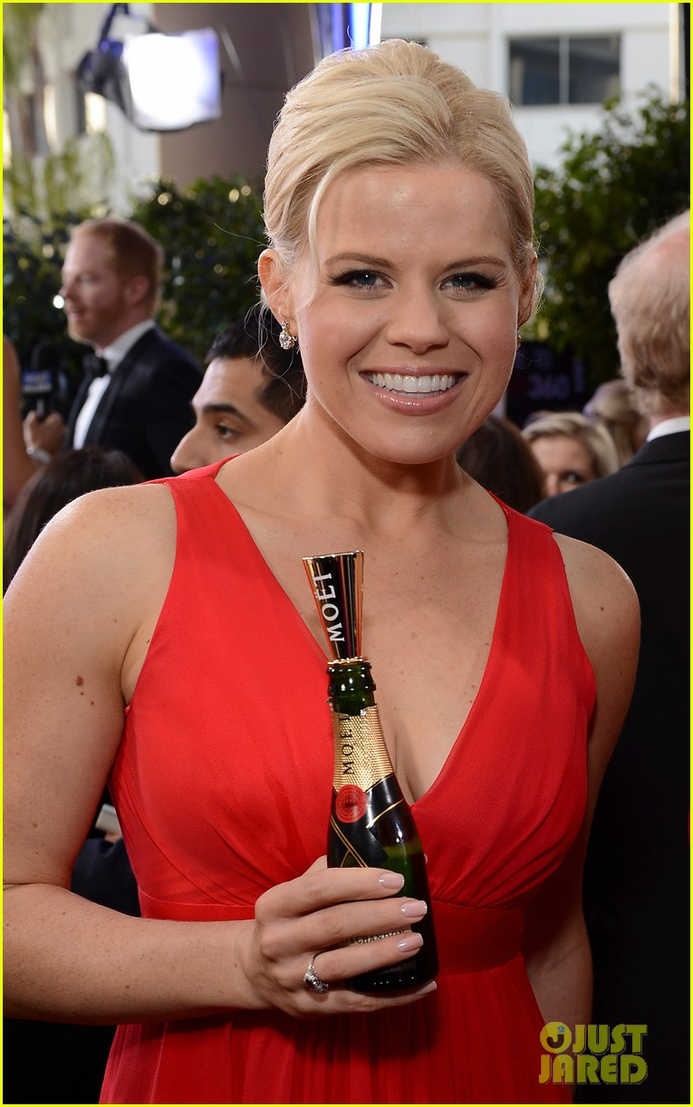 Katharine Mcphee Amp Megan Hilty Golden Globes 2013 Photo