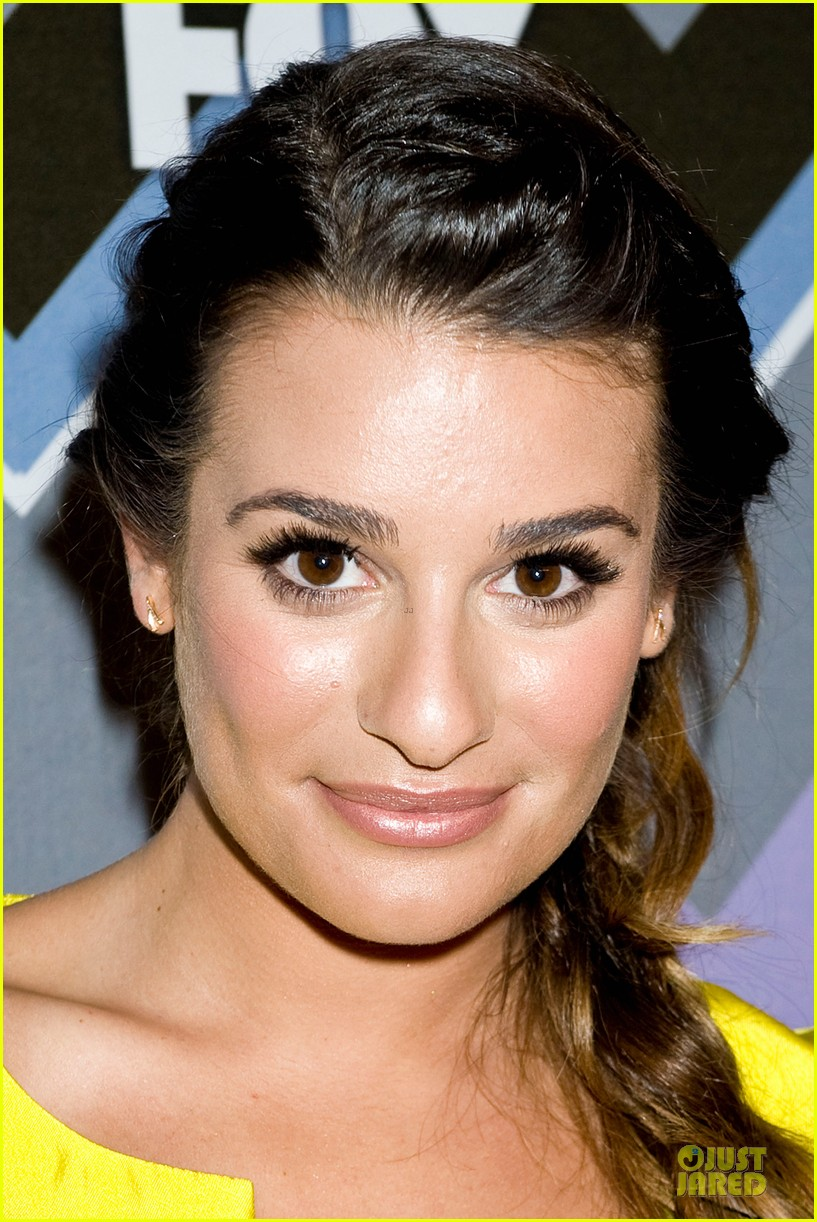 lea michele tca fox all star party with glee cast 082787372