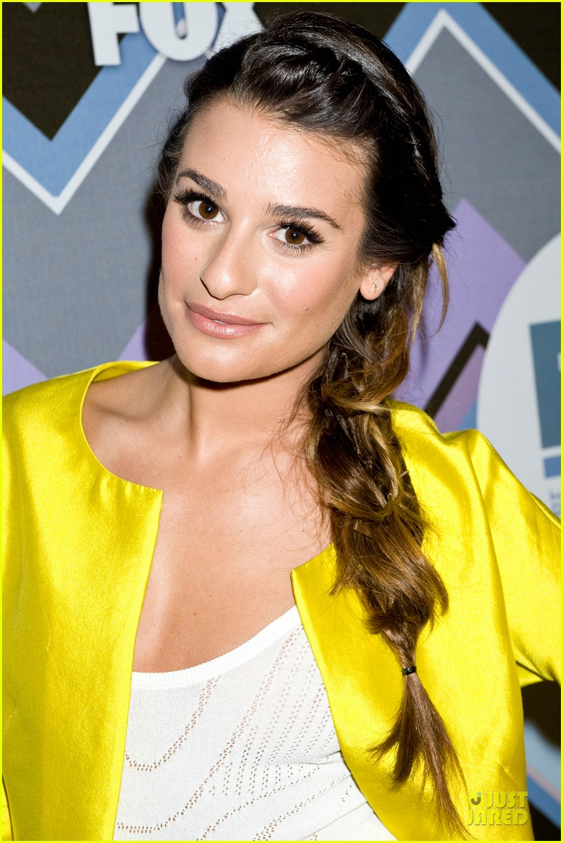 lea michele tca fox all star party with glee cast 14