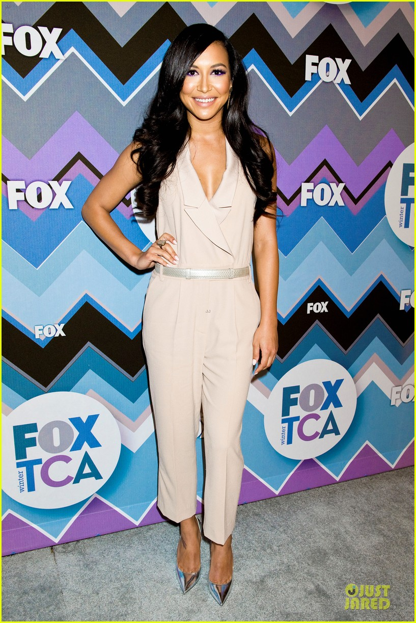 lea michele tca fox all star party with glee cast 212787385