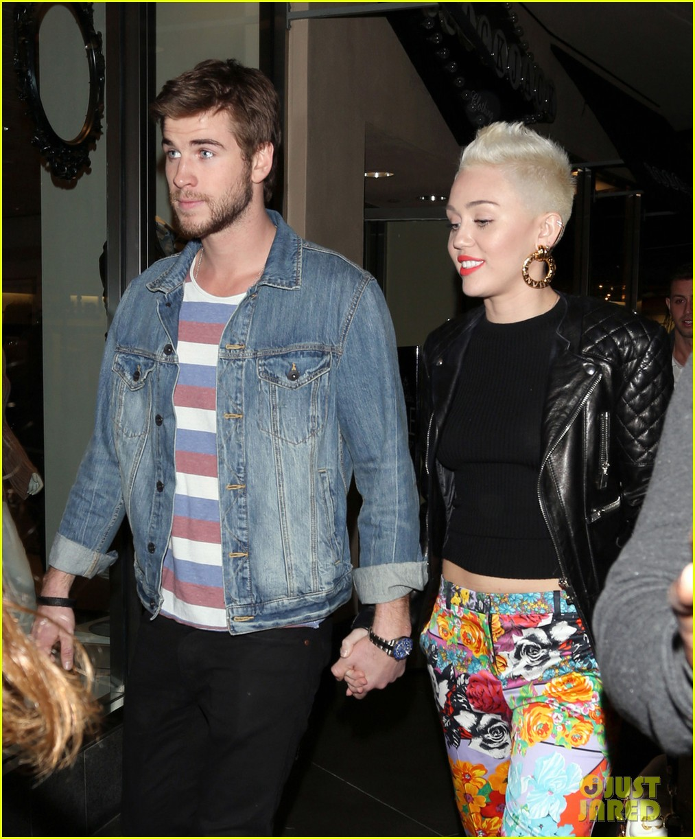 Miley Cyrus & Liam Hemsworth: Noah Cyrus' Birthday Bash ...
