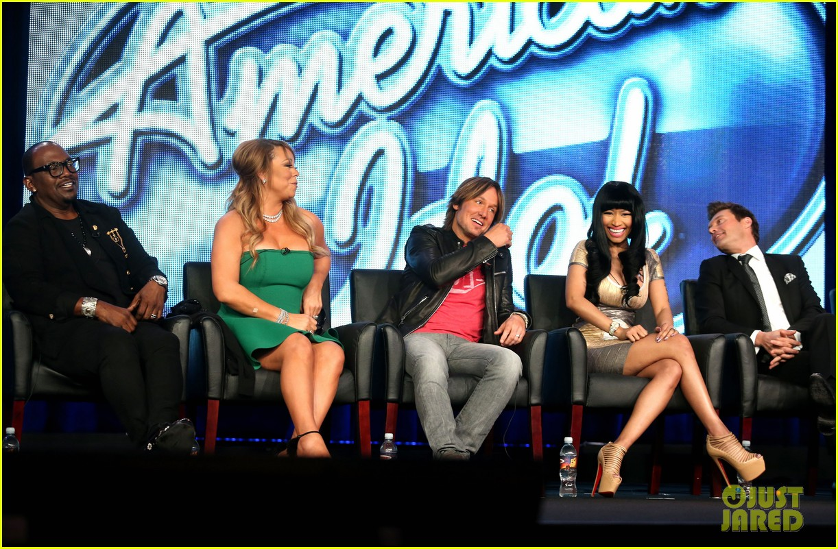 mariah carey nicki minaj american idol tca panel 052786946