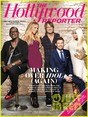 nicki minaj mariah carey cover the hollywood reporter 012784304