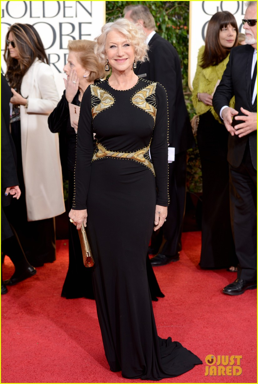 helen mirren glenn close golden globes 2013 red carpet 06