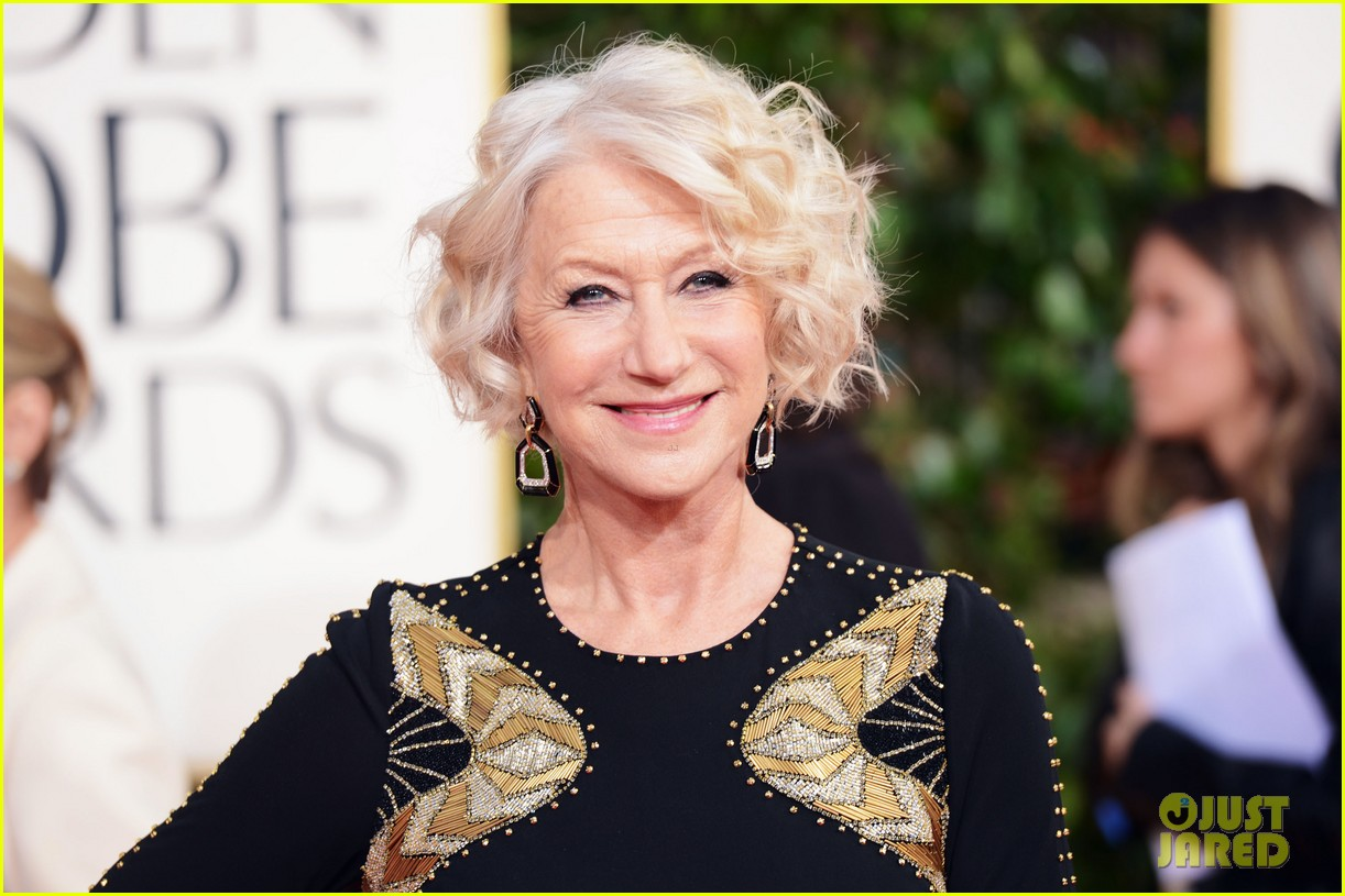 helen mirren glenn close golden globes 2013 red carpet 11
