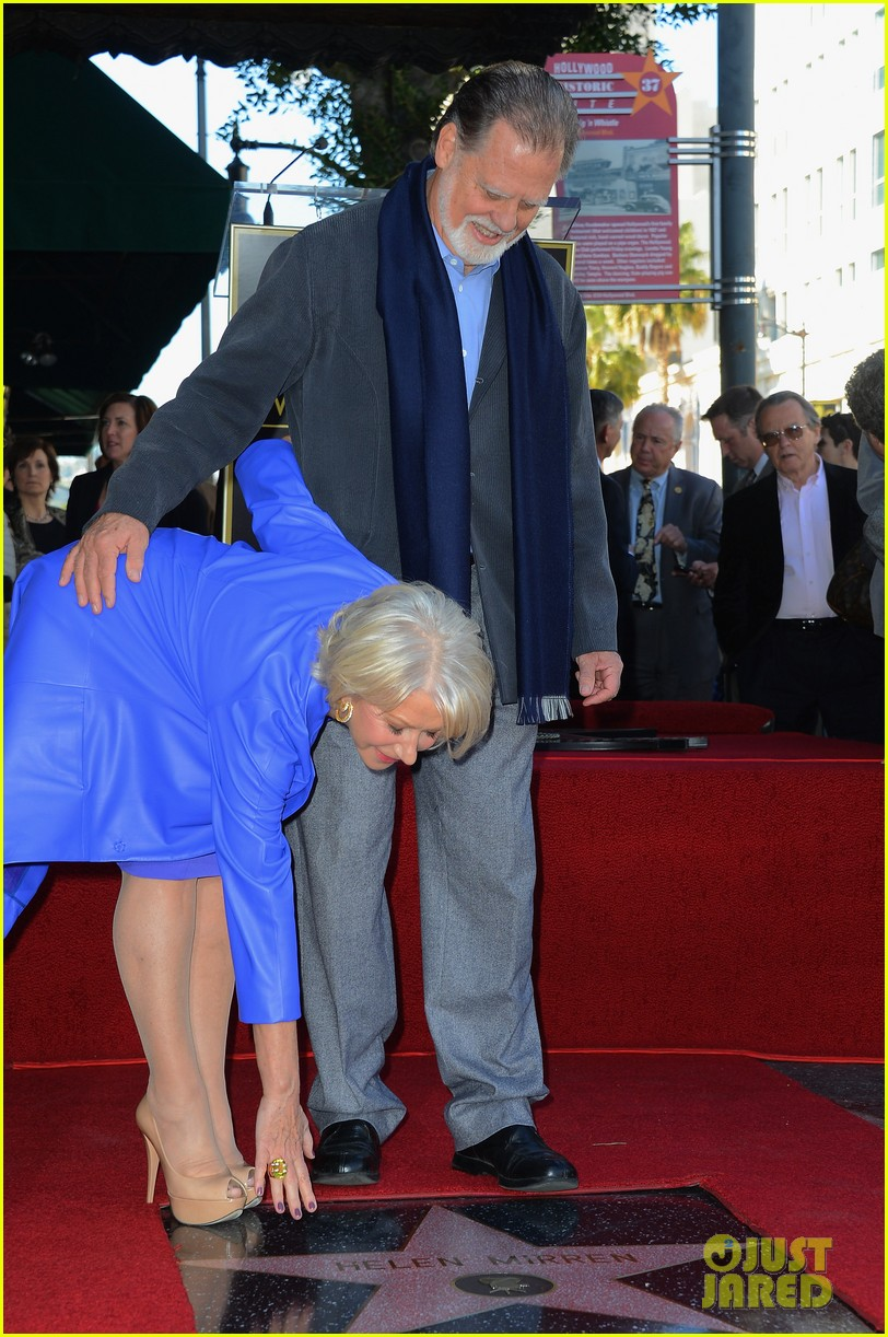 helen mirren receives star on hollywood walk of fame 182784360