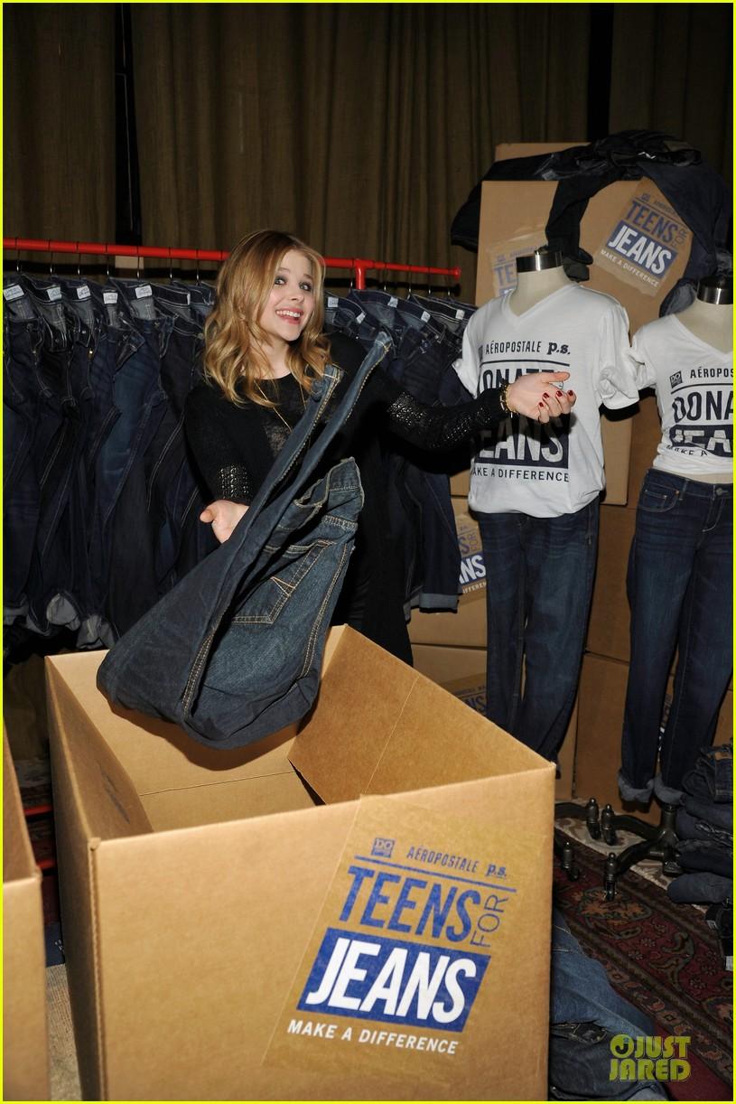 chloe moretz teens for jeans host 082787319