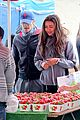 matthew morrison & renee puente strawberry picking couple 12