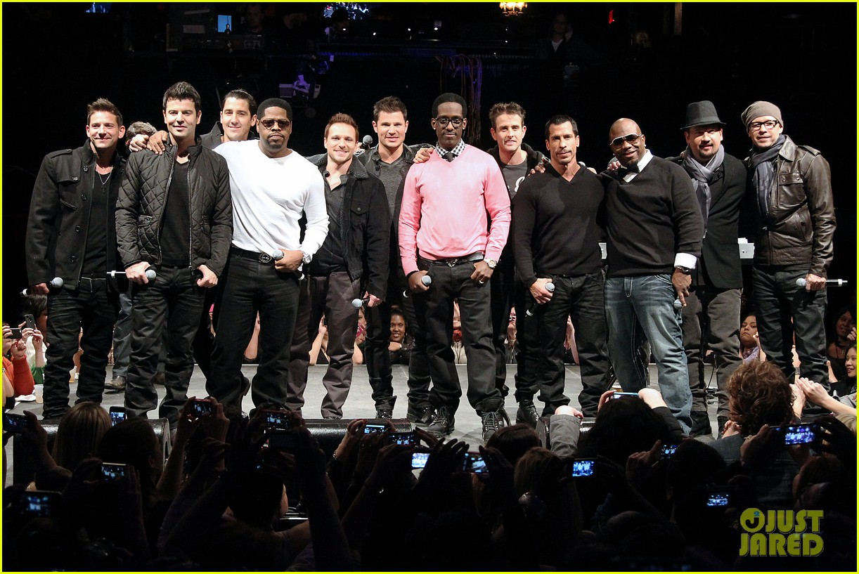 nkotb 98 degrees boys ii men tour announcement show 272797468