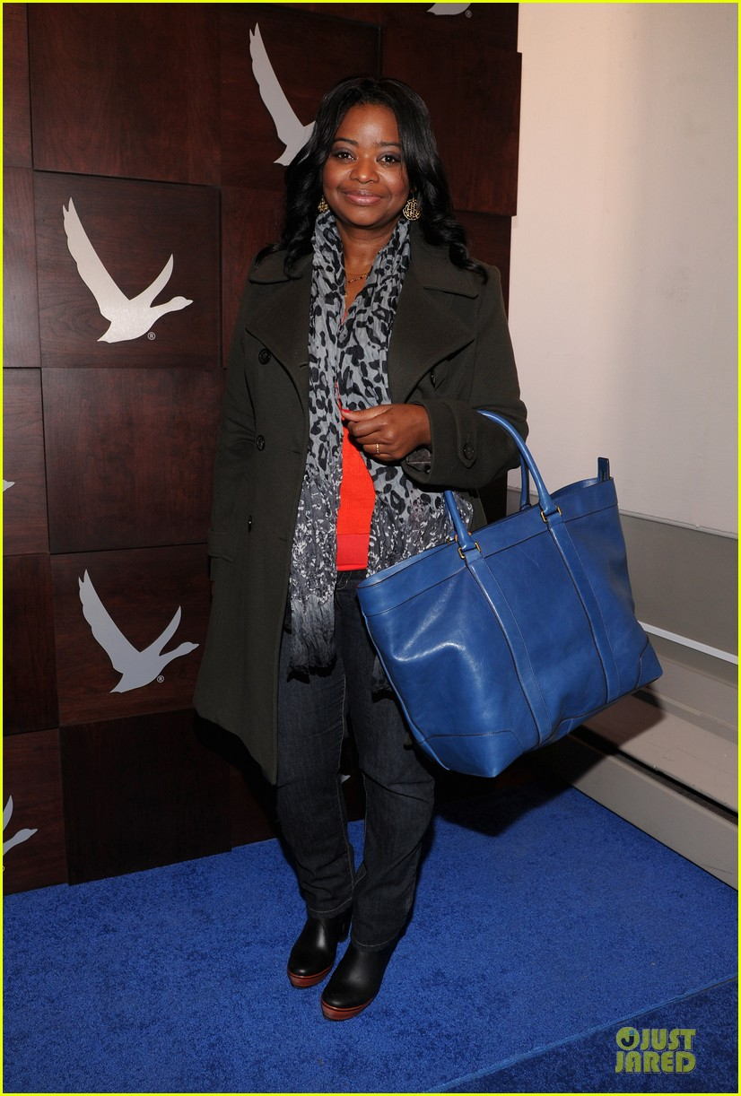 octavia spencer new york cares coat drive supporter at sundance 012795296