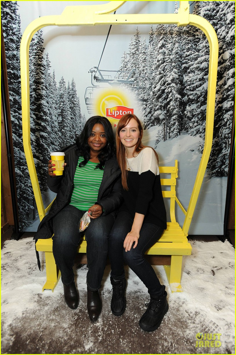 octavia spencer new york cares coat drive supporter at sundance 032795298