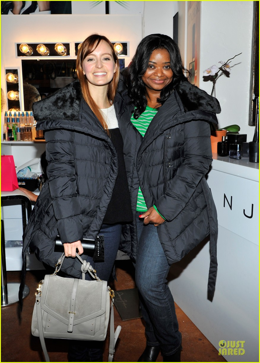 octavia spencer new york cares coat drive supporter at sundance 042795299
