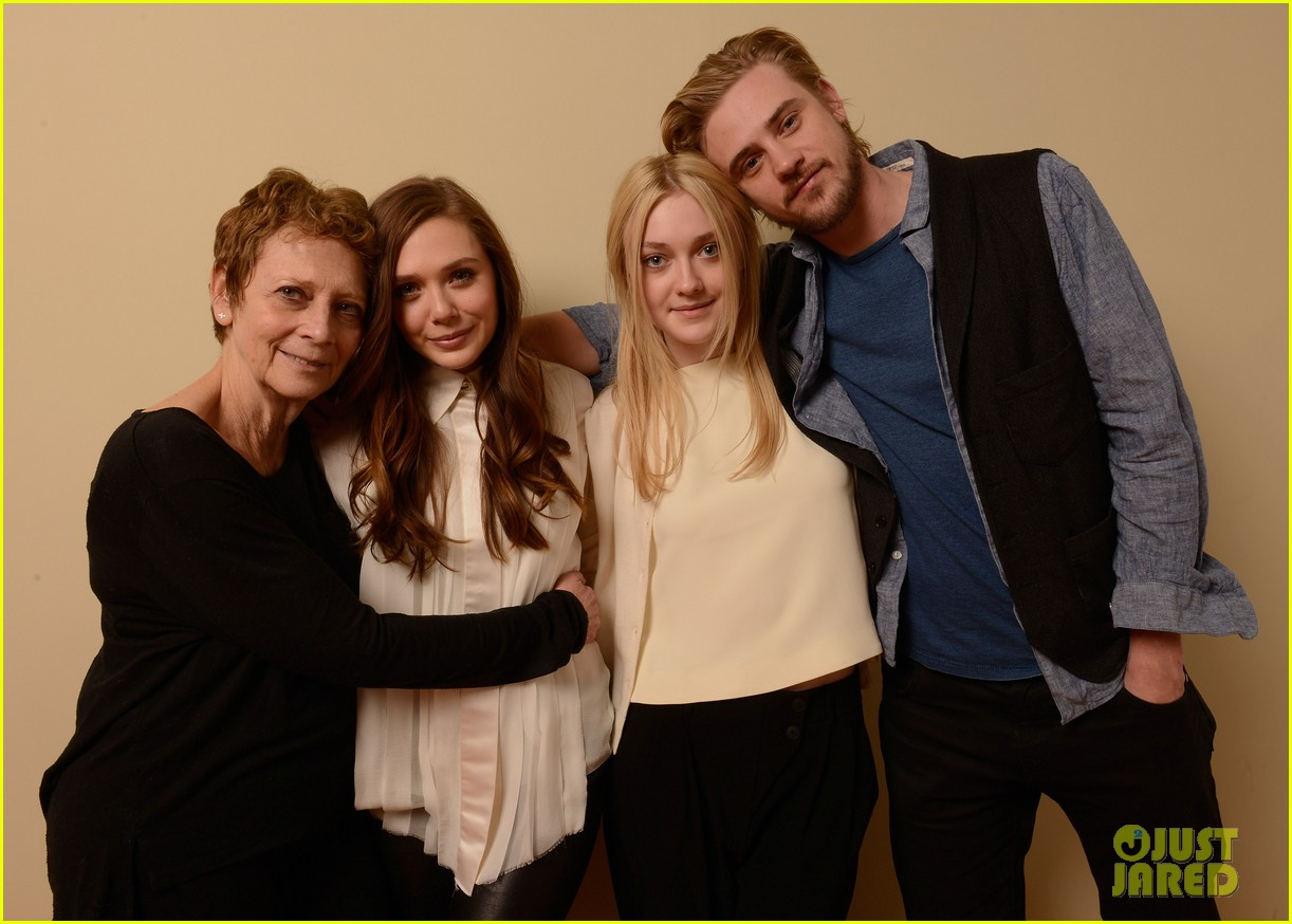 elizabeth olsen dakota fanning sundance portraits 21