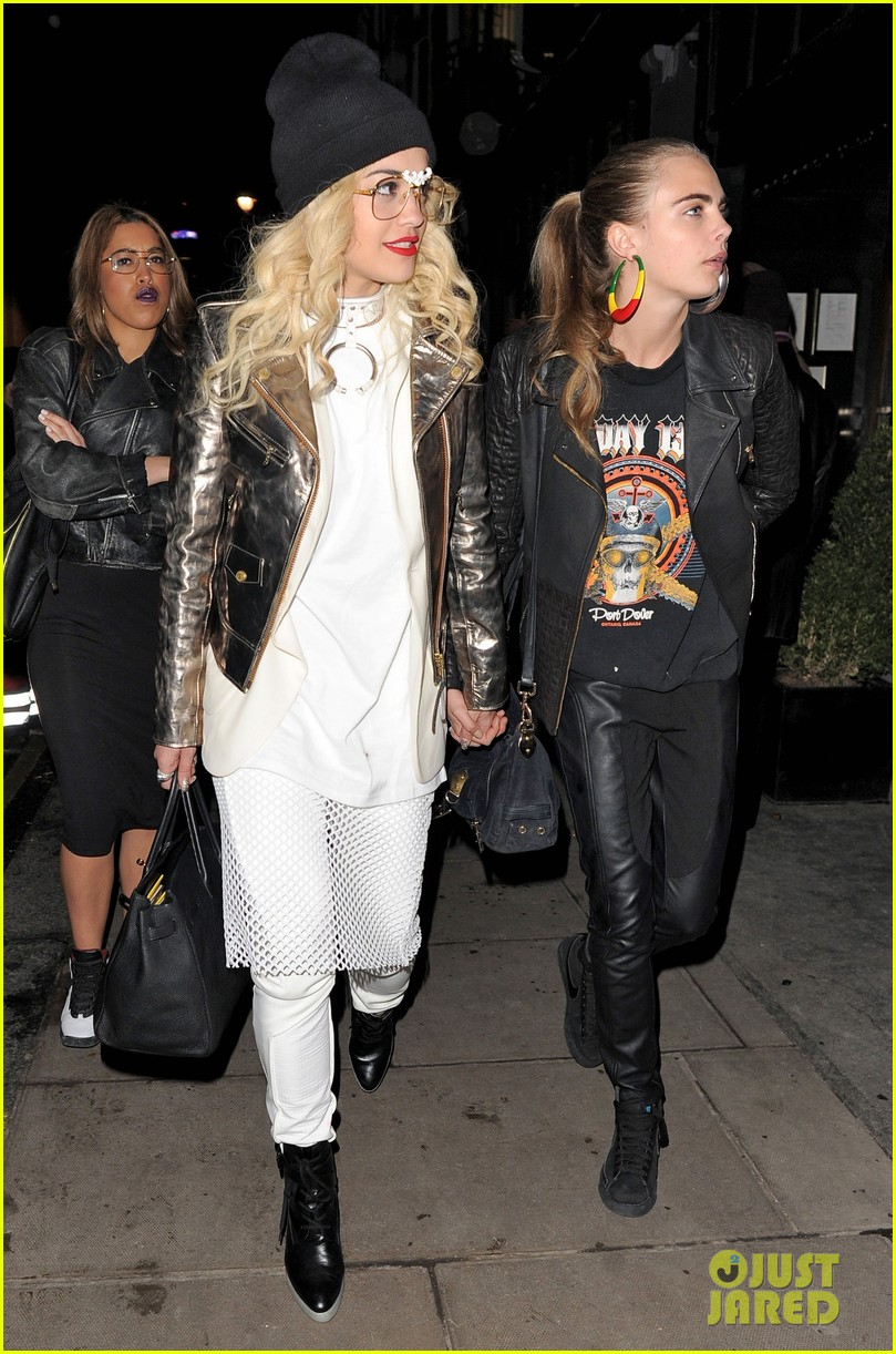 rita ora cara delevingne girls night out 092796025